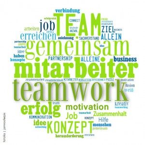 Wordcloud Teamwork